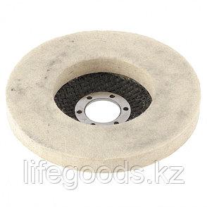 Круг полировальный непрерывный из натурального войлока 125 х 22,2 мм Matrix 75942, фото 2