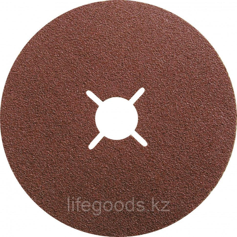 Круги фибровые 5 шт, Р 24, 115 х 22 mm Matrix 73901