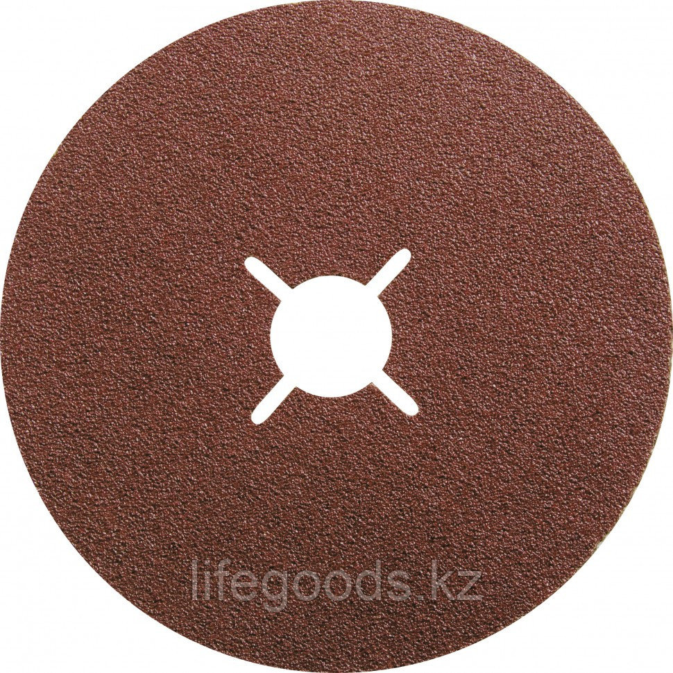 Круги фибровые 5 шт, Р 40, 125 х 22 mm Matrix 73908