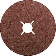 Круги фибровые 5 шт, Р 60, 125 х 22 mm Matrix 73909