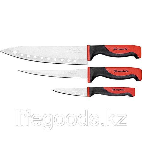 """Набор ножей поварских """"SILVER TEFLON"""", тефл. покр, 200 мм, 160 мм, 80 мм, 3 шт Matrix Kitchen 79148, фото 2"""