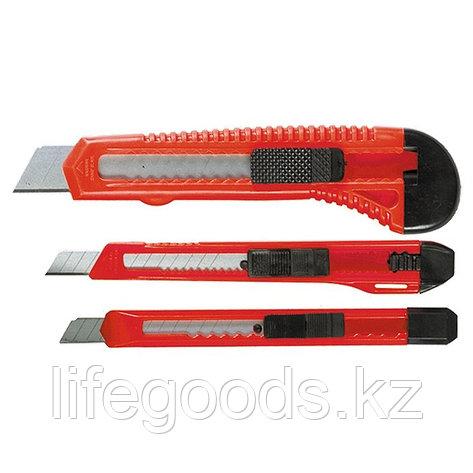 Набор ножей, выдвижные лезвия, 9-9-18 мм, 3 шт, Matrix, фото 2