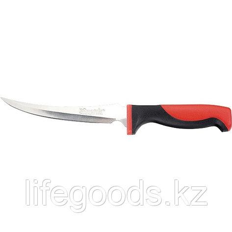 "Нож рыбака ""FILLET KNIFE"" small, 150 мм, двухкомпонентная рукоятка, пластиковые ножны Matrix Kitchen 79108, фото 2"