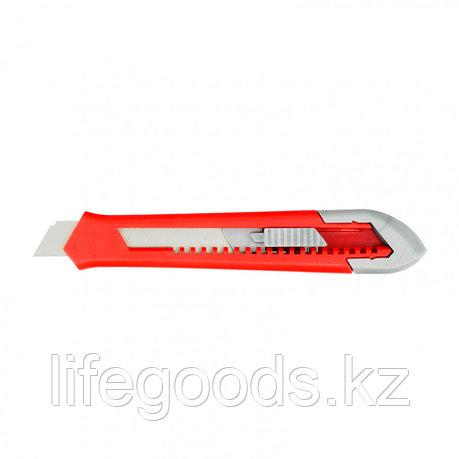 Нож, 18 мм, выдвижное лезвие, корпус ABS пластик Matrix 78928, фото 2