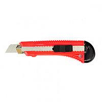 Нож, 18 мм, выдвижное лезвие, металлическая направляющая Matrix 78918