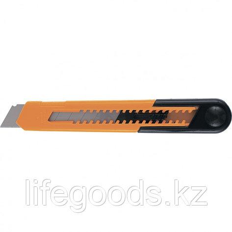Нож, 18 мм, выдвижное лезвие, пластиковый усиленный корпус Sparta 78907, фото 2