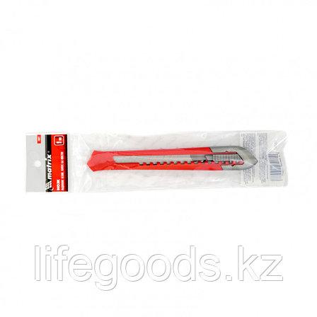 Нож, 9 мм, выдвижное лезвие, корпус ABS пластик Matrix 78927, фото 2