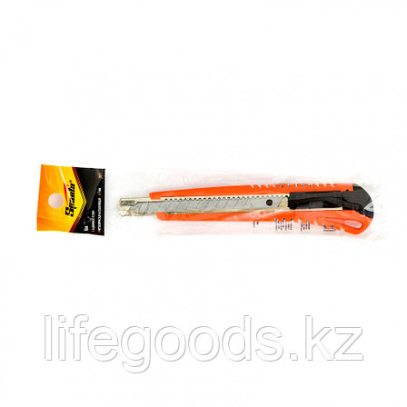 Нож, 9 мм, выдвижное лезвие, металлическая направляющая Sparta, фото 2