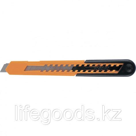 Нож, 9 мм, выдвижное лезвие, пластиковый усиленный корпус Sparta 78906, фото 2