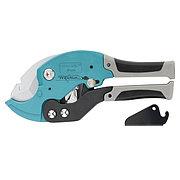 Ножницы для резки изделий из ПВХ, D до 36 мм, двухкомпонентные рукоятки, рабочий стол для плоских изделий