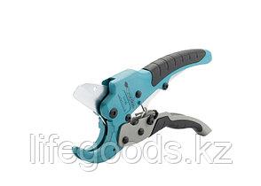 Ножницы для резки изделий из ПВХ, D до 45 мм, обрезиненные рукоятки, рабочий стол для плоских изделий Gross, фото 2