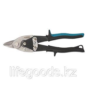 """Ножницы по металлу """"Piranha"""", 230 мм, прямой усиленный рез (Bulldog), сталь СrMo, двухкомпонентная рукоятка-ки, фото 2"""