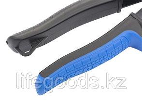 """Ножницы по металлу """"Piranha"""", 250 мм, прямой и правый рез, сталь СrMo, двухкомпонентные рукоятки Gross 78323, фото 2"""