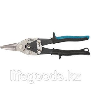 """Ножницы по металлу """"Piranha"""", 250 мм, прямой рез, сталь-CrMo, двухкомпонентные рукоятки Gross 78325, фото 2"""