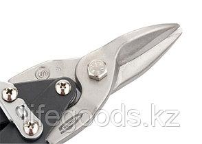 """Ножницы по металлу """"Piranha"""", 250 мм, прямой рез, сталь-CrMo, двухкомпонентные рукоятки Gross 78325, фото 3"""