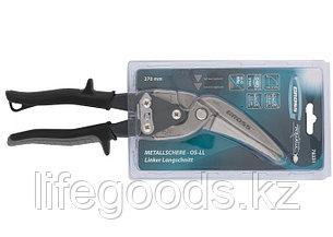 """Ножницы по металлу """"Piranha"""", 270 мм, прямой и левый проходной рез, сталь СrMo, двухкомпонентные рукоятки, фото 2"""