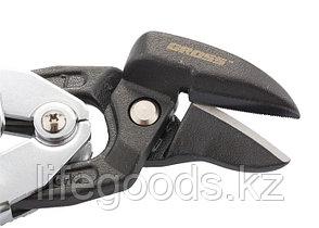 """Ножницы по металлу """"Piranha"""", усиленные, 255 мм, прямой и левый рез, сталь СrMo, двухкомпонентные рукоятки, фото 3"""