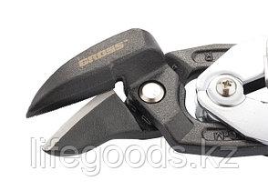 """Ножницы по металлу """"Piranha"""", усиленные, 255 мм, прямой и правый рез, сталь СrMo, двухкомпонентные рукоятки, фото 3"""