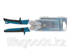 """Ножницы по металлу""""Piranha""""усиленные, 255 мм, прямой рез, сталь СrMo, двухкомпонентные рукоятки Gross 78347, фото 2"""
