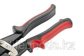 Ножницы по металлу, 250 мм, правые, обрезиненные рукоятки Matrix 78332, фото 2