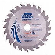 Пильный диск по дереву 150 x 20/16 мм, 24 твердосплавных зуба Барс 73354