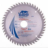 Пильный диск по дереву 200 x 32/30 мм, 48 твердосплавных зубъев Барс 73376