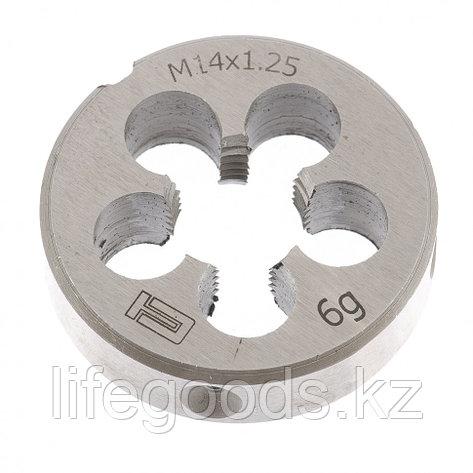 Плашка М14 х 1,25 мм Сибртех, фото 2