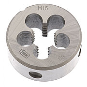Плашка М16 х 2 мм Сибртех 77044