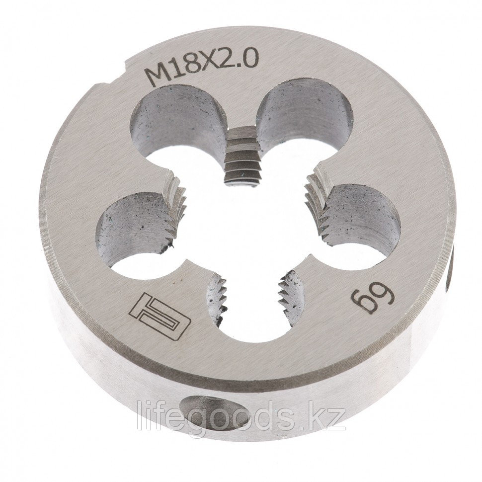 Плашка М18 х 2 мм Сибртех 77050