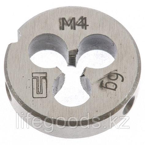Плашка М4 х 0,7 мм Сибртех 77009, фото 2