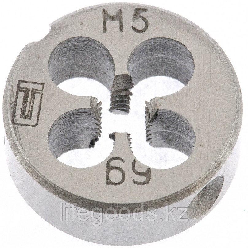 Плашка М5 х 0,8 мм Сибртех 77013