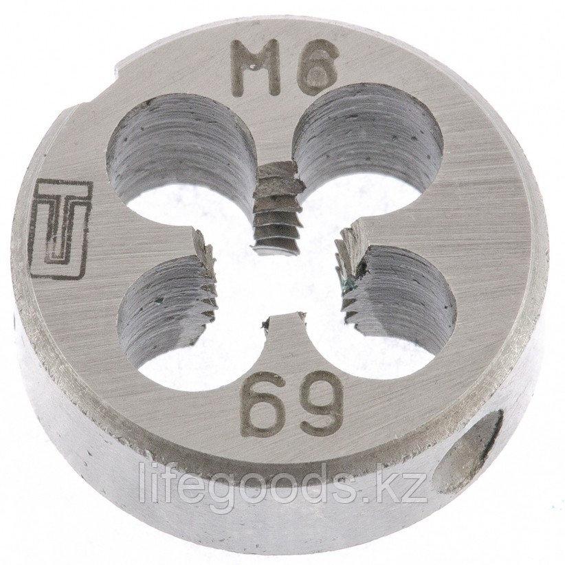 Плашка М6 х 1 мм Сибртех 77017