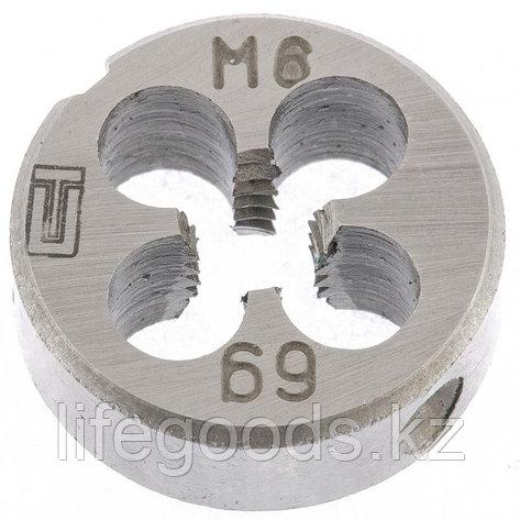 Плашка М6 х 1 мм Сибртех 77017, фото 2
