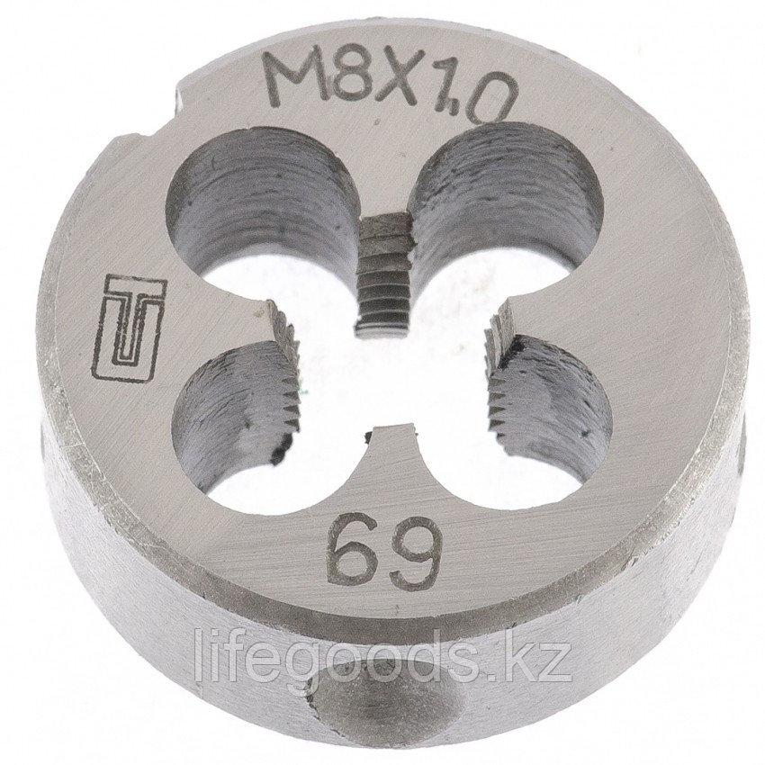 Плашка М8 х 1 мм Сибртех 77019