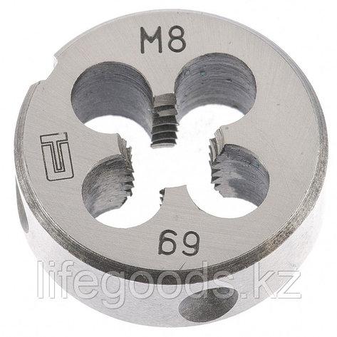 Плашка М8 х 1,25 мм Сибртех 77020, фото 2
