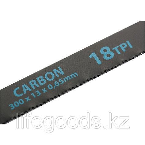 Полотна для ножовки по металлу, 300 мм, 18 TPI, Carbon, 2 шт Gross 77720, фото 2