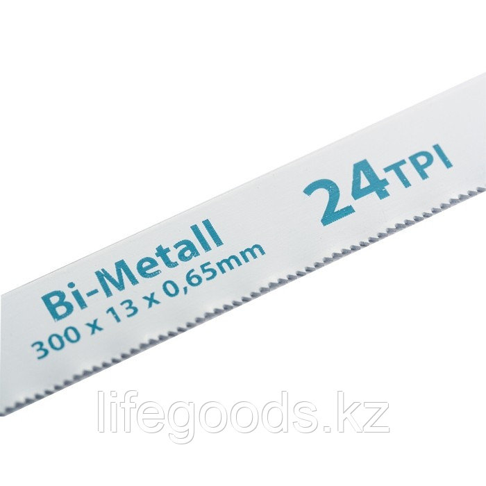Полотна для ножовки по металлу, 300 мм, 24 TPI, BIM, 2 шт Gross 77729
