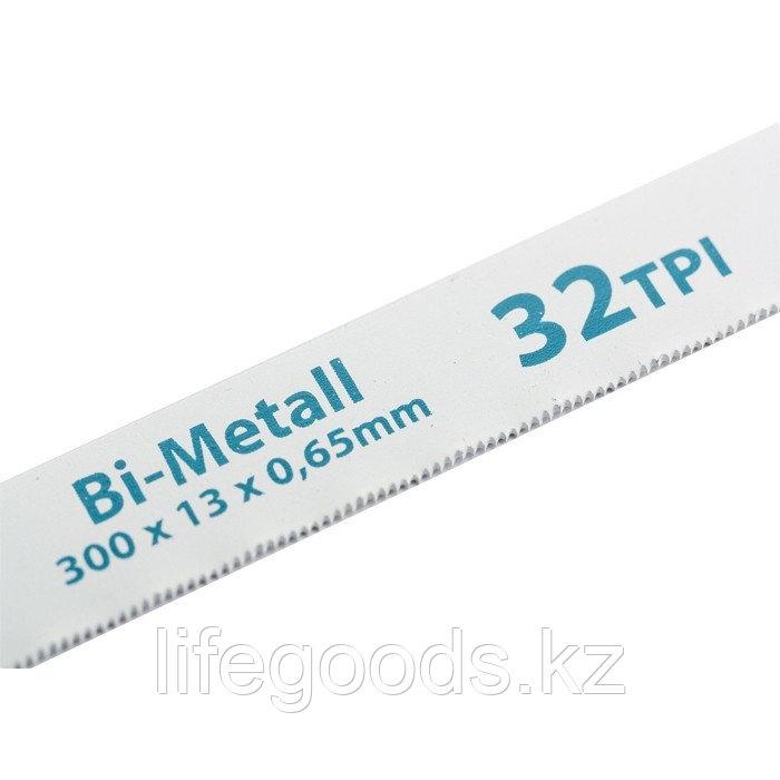 Полотна для ножовки по металлу, 300 мм, 32 TPI, BiM, 2 шт Gross 77728