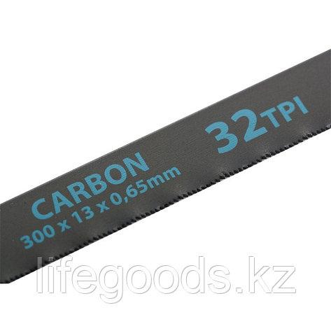 Полотна для ножовки по металлу, 300 мм, 32 TPI, Carbon, 2 шт Gross 77718, фото 2