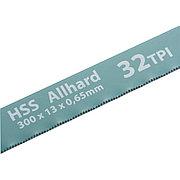 Полотна для ножовки по металлу, 300 мм, 32 TPI, HSS, 2 шт Gross 77723