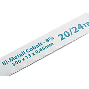 Полотна для ножовки по металлу, 300 мм, VARIOZAHN, BiM, 2 шт Gross 77731