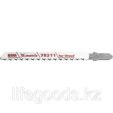 Полотна для электролобзика по дереву, 3 шт, T101BF, 75 x 2,5 мм, Bimetal Matrix Professional 78211, фото 2