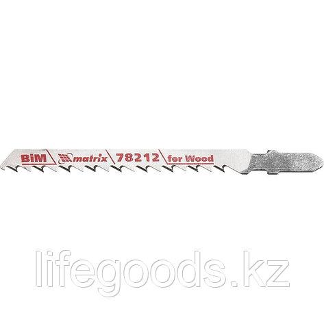 Полотна для электролобзика по дереву, 3 шт, T101DF, 75 x 4 мм, Bimetal Matrix Professional 78212, фото 2