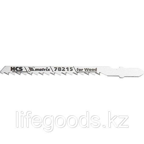 Полотна для электролобзика по дереву, 3 шт, T244D, 75 x 4 мм, HCS Matrix Professional 78215, фото 2