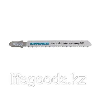 Полотна для электролобзика  по дереву, 2 шт, ( 3101-T101B ) Gross 78260, фото 2