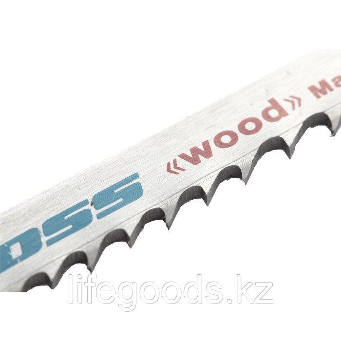 Полотна для электролобзика  по дереву, 2 шт, ( 3108-T119B ) Gross 78275