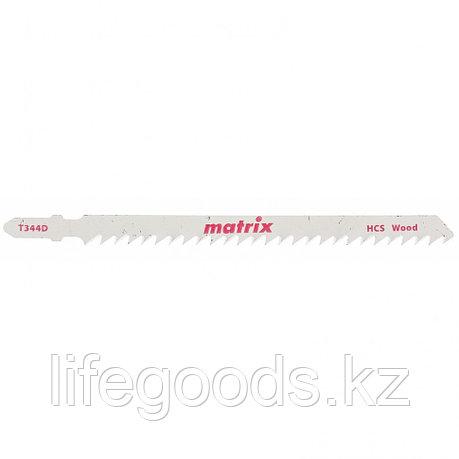 Полотна для электролобзика  по дереву, 3 шт,T344D, 110 x 4 мм, HCS Matrix 78221, фото 2