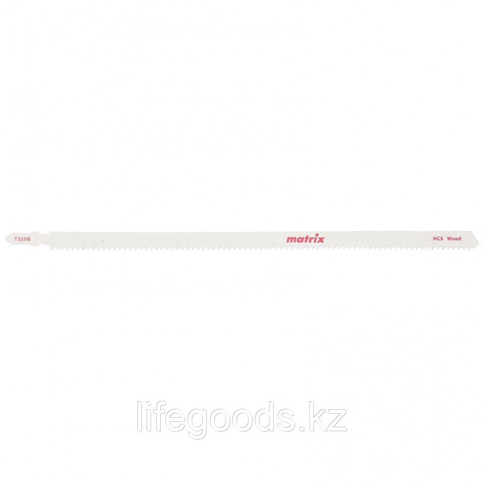 Полотна для электролобзика  по дереву, 3 шт,T544D, 125 x 4 мм, HCS Matrix 78222