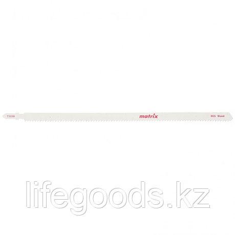 Полотна для электролобзика  по дереву, 3 шт,T544D, 125 x 4 мм, HCS Matrix 78222, фото 2