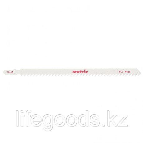 Полотна для электролобзика  по дереву, 3 шт,T744D, 155 x 4 мм, HCS Matrix 78223, фото 2